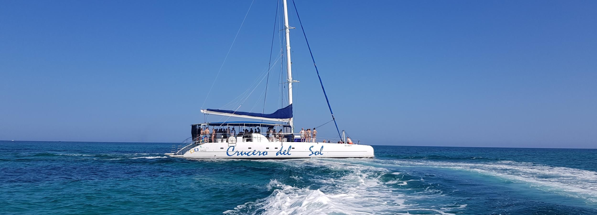 Varadero: croisière en catamaran à Cayo Blanco avec les dauphins
