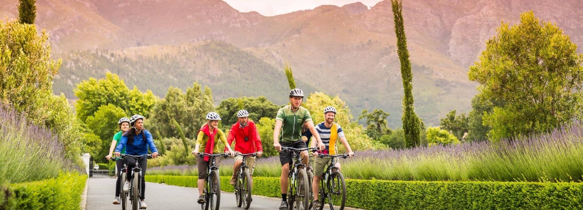 Von Kapstadt: Winelands Radtour