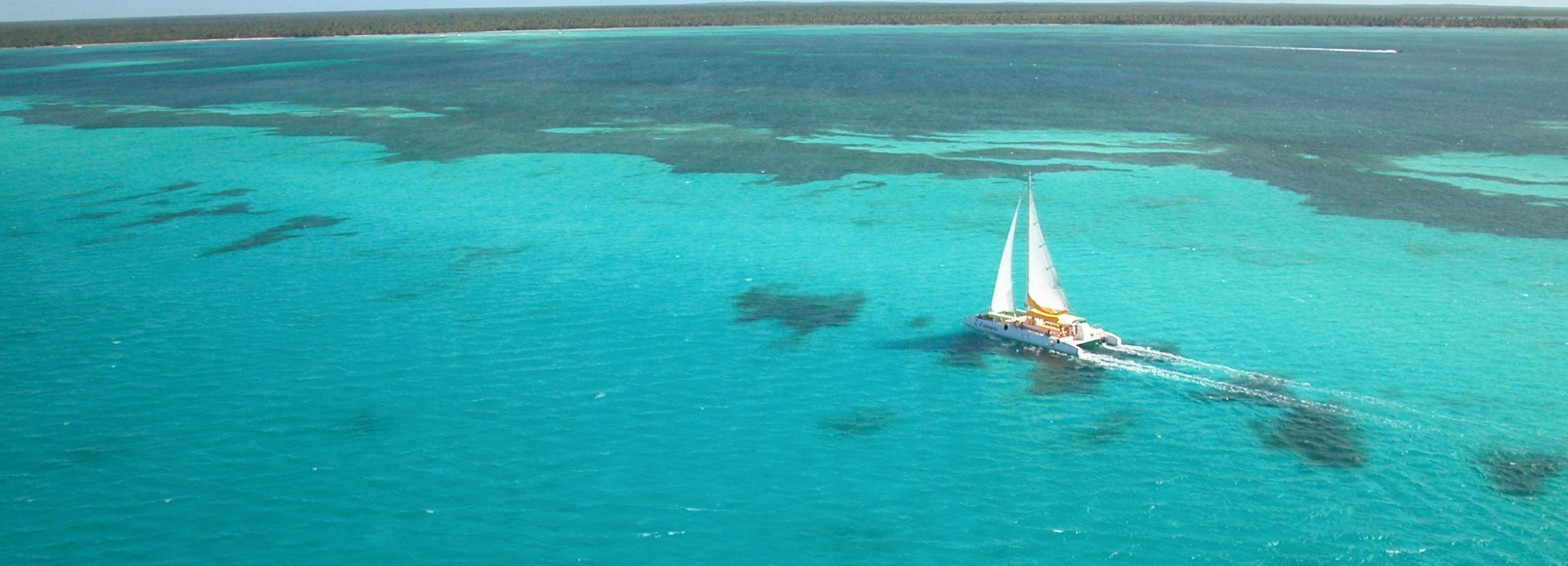 Punta Cana: excursión en barco de día completo a la isla Saona