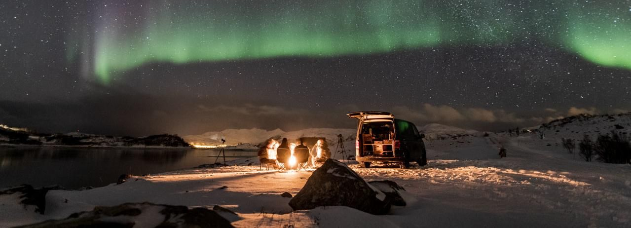 Tromso: 4x4 Small Group Northern Lights Photography Tour