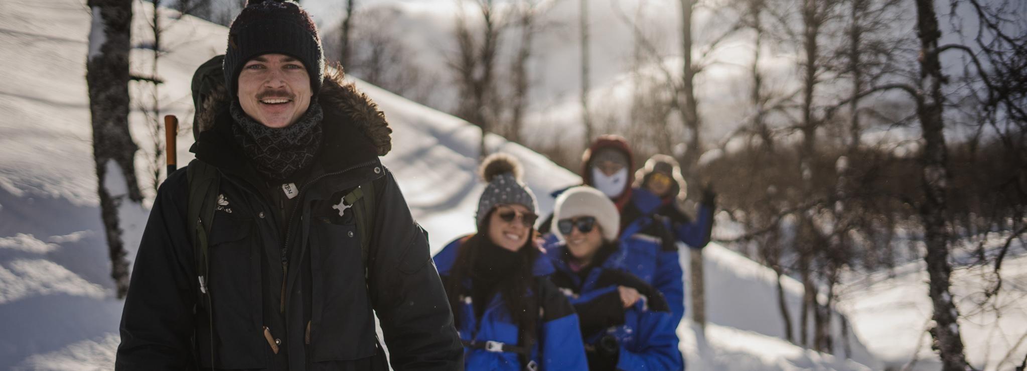 Tromsø: sneeuwschoenervaring, Ice Domes en rendieren voeren