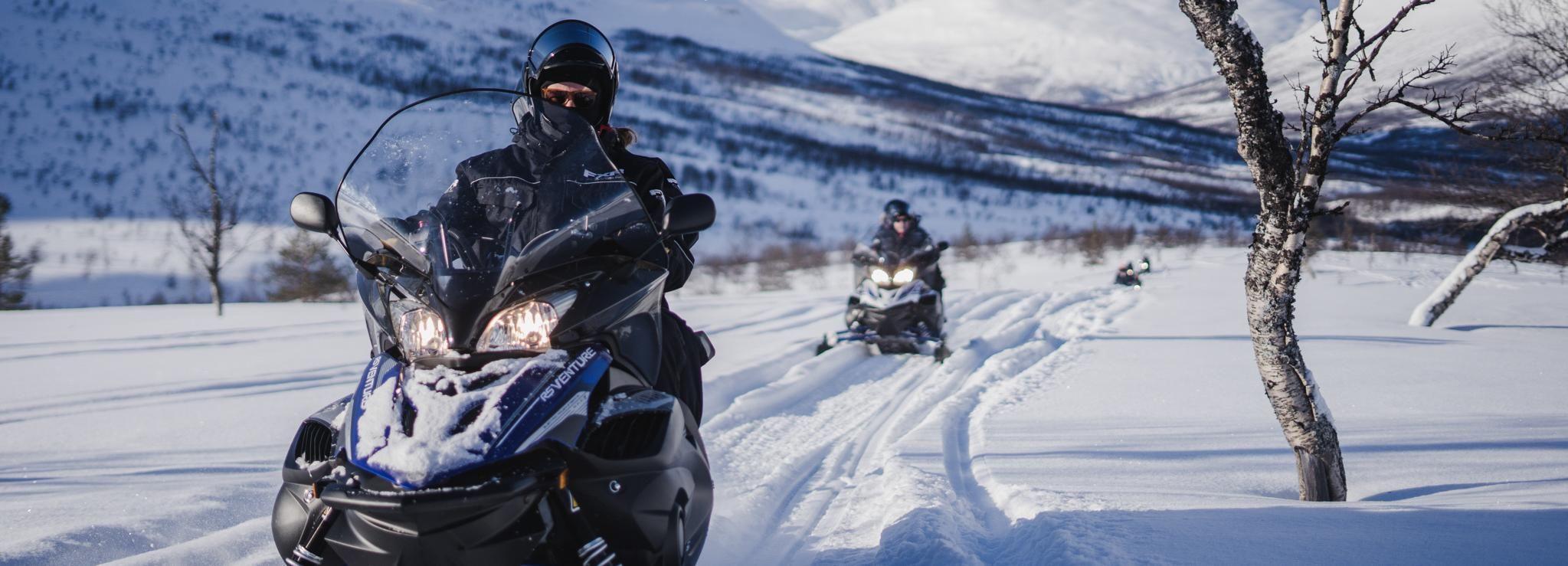 Tromsø: sneeuwscooteren en bezoek Ice Domes en rendieren