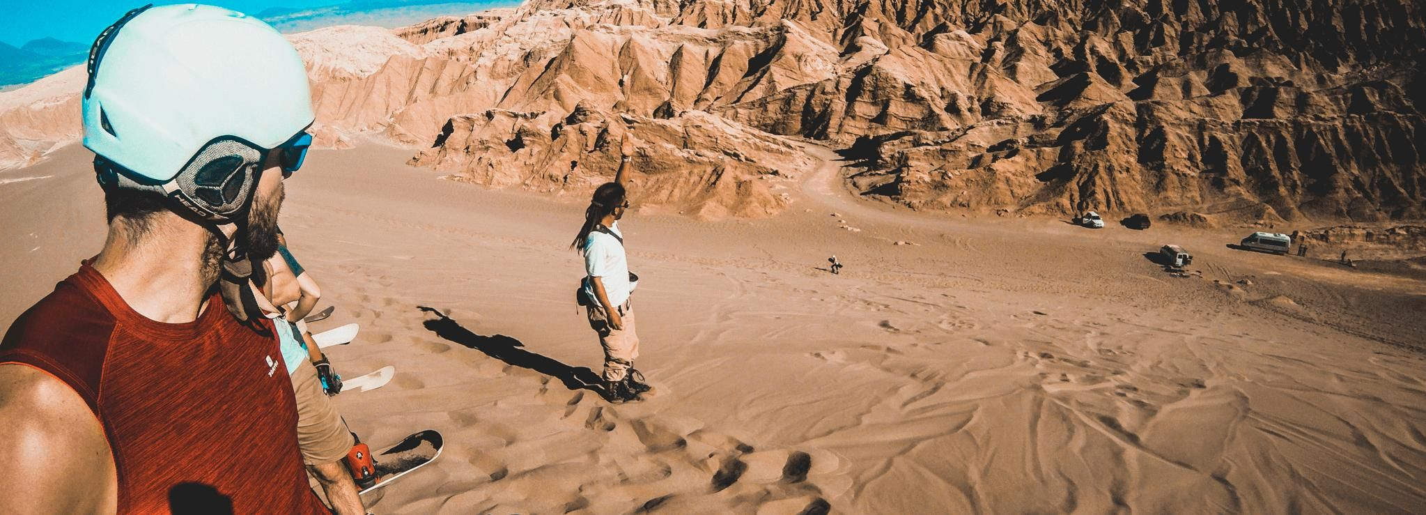 San Pedro de Atacama: Sandboarding Adventure in Death Valley