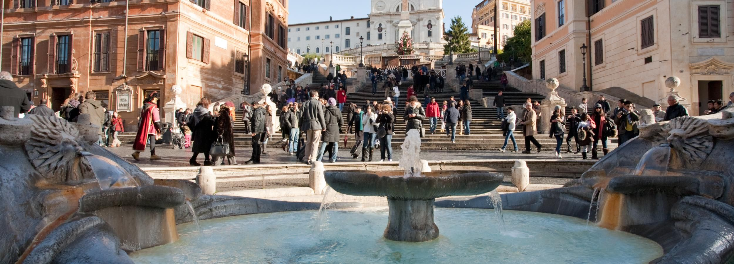 Rome: Fountains and Squares Guided Walking Tour