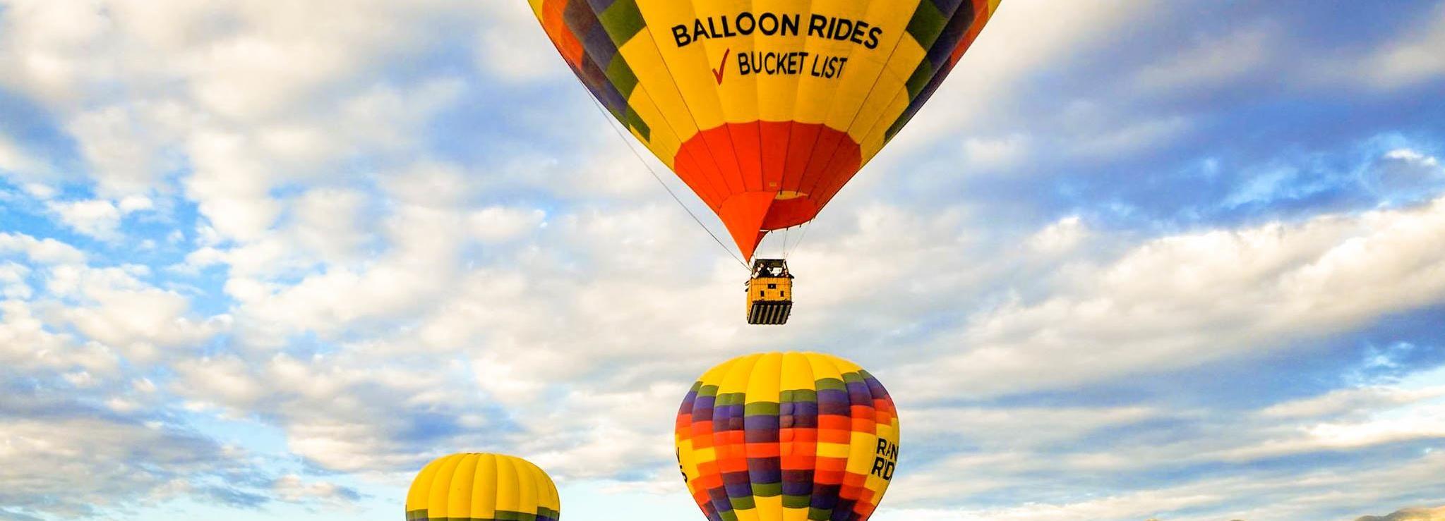 Colorado Springs: Heißluftballonflug bei Sonnenaufgang