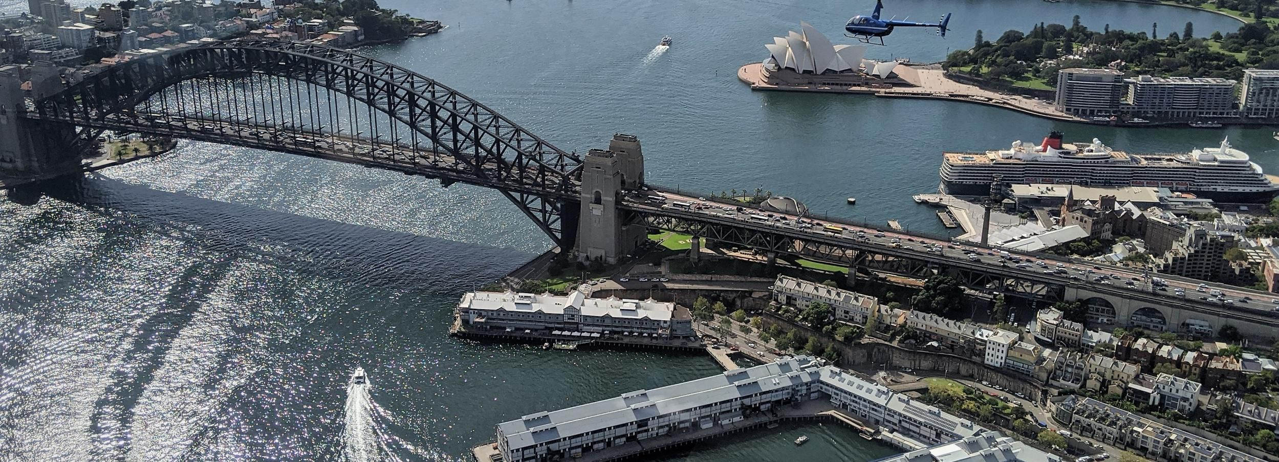 Sydney Harbour: 20-Minute Coast & Skyline Helicopter flight