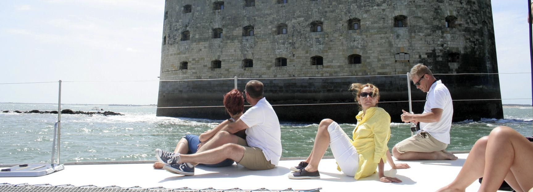 From La Rochelle: Sailing Cruise to Fort Boyard