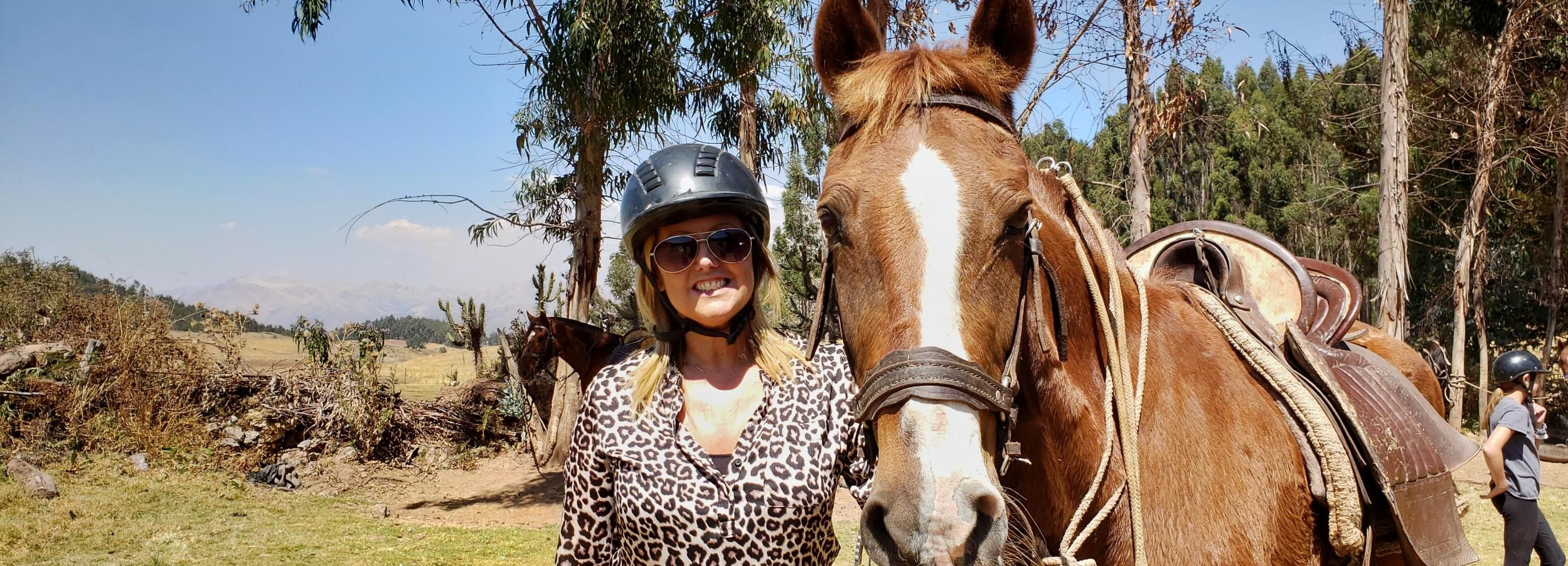 Cusco: Cavalgada de meio dia na varanda do diabo