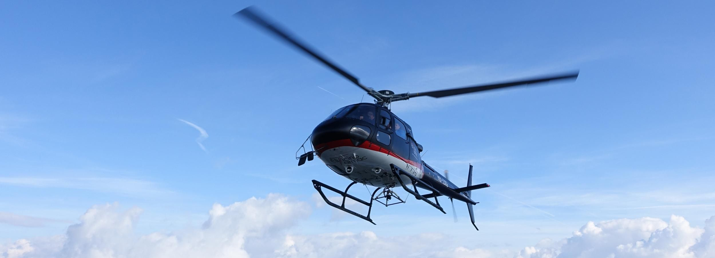 Bern: Privater 18-minütiger Hubschrauberflug