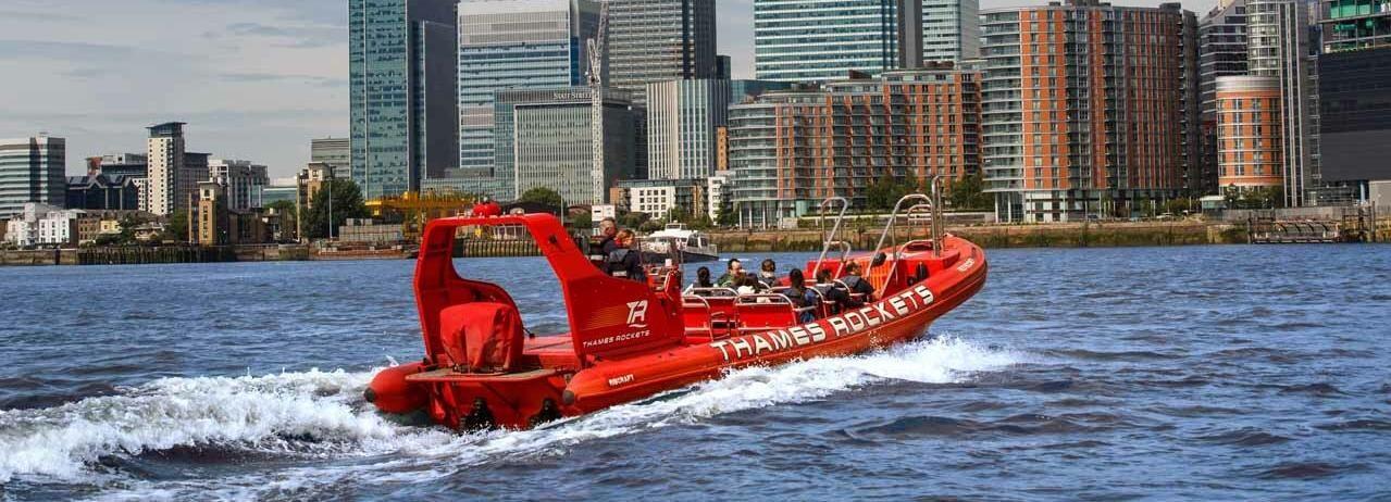 Londra: esperienza di motoscafo privato sul Tamigi