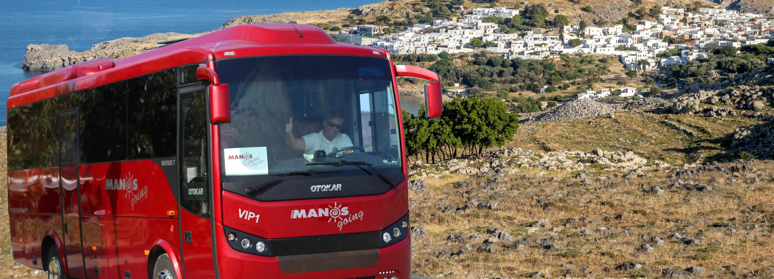 From Rhodes Town: Day Trip to Lindos