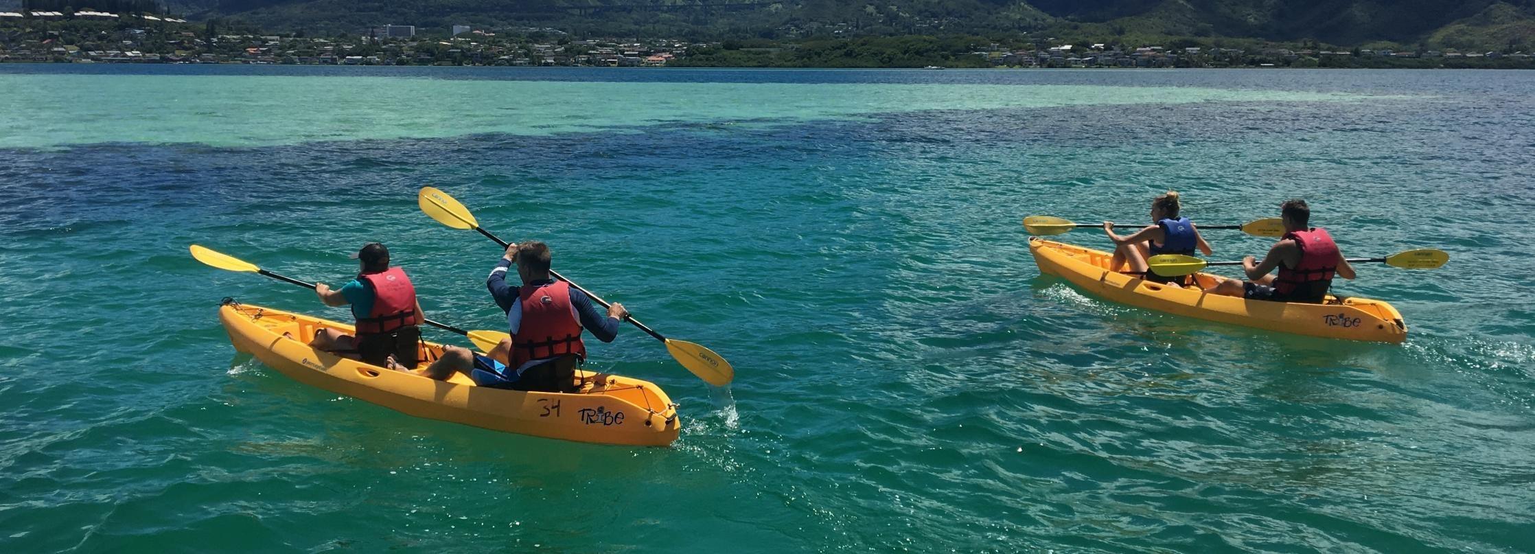 Oahu: Kane'ohe Bay Kayak Rentals