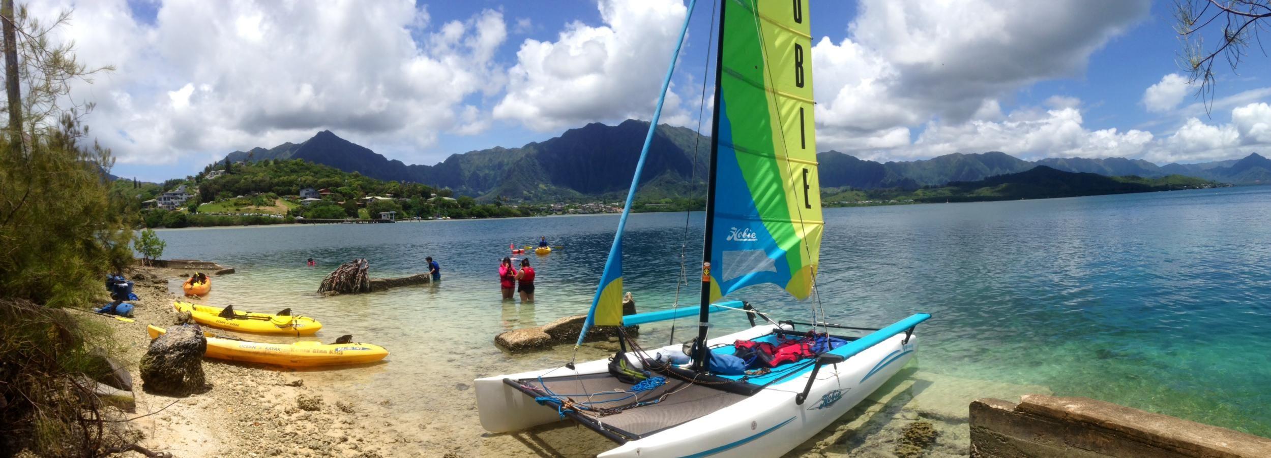 Oahu: Kane'ohe Bay Hobie Catamaran 1-Hour Rental