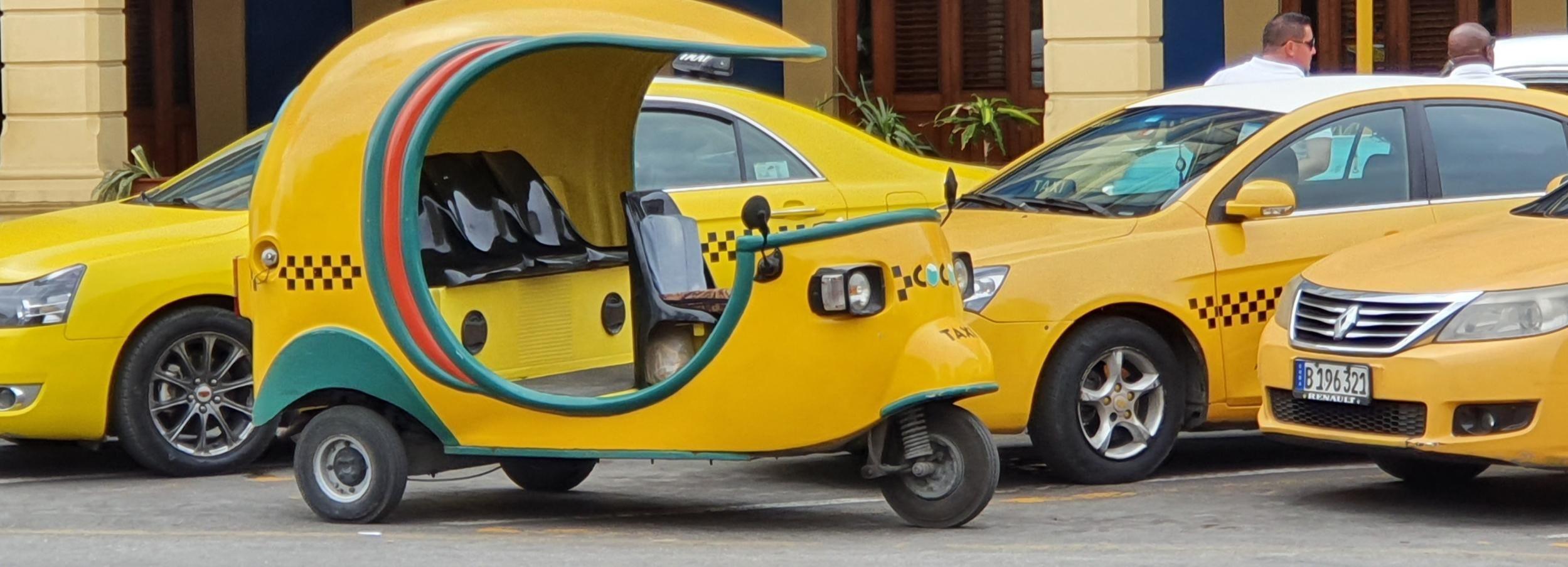 Le Havane: découverte la vieille ville à pied et coco-taxi