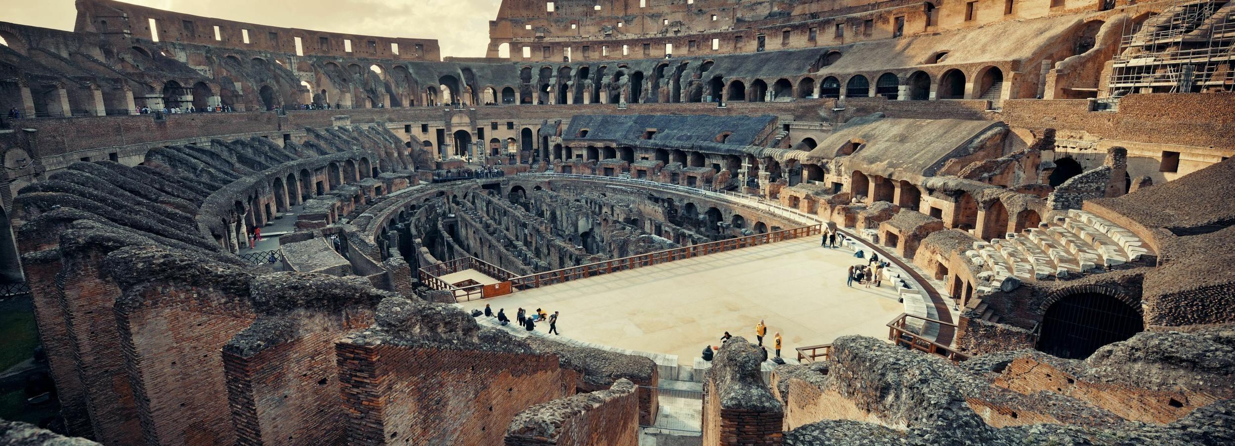 Roma: tour prioritario dell'Arena del Colosseo e antica Roma