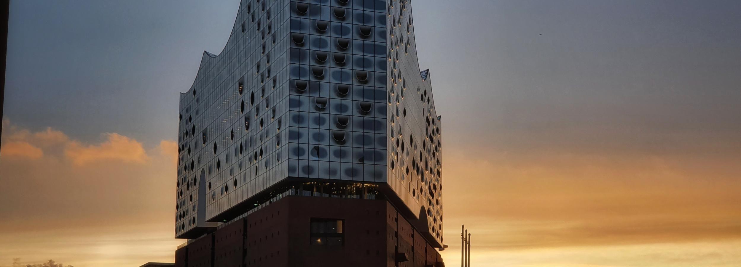 Hamburg: Express Outer Elbphilharmonie Guided Tour