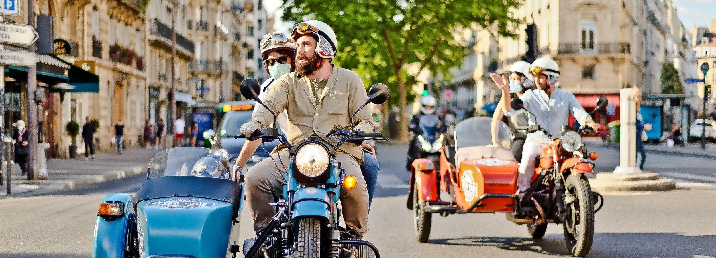 Paris: 2-Hour Classic Vintage Sidecar Half-Day Tour