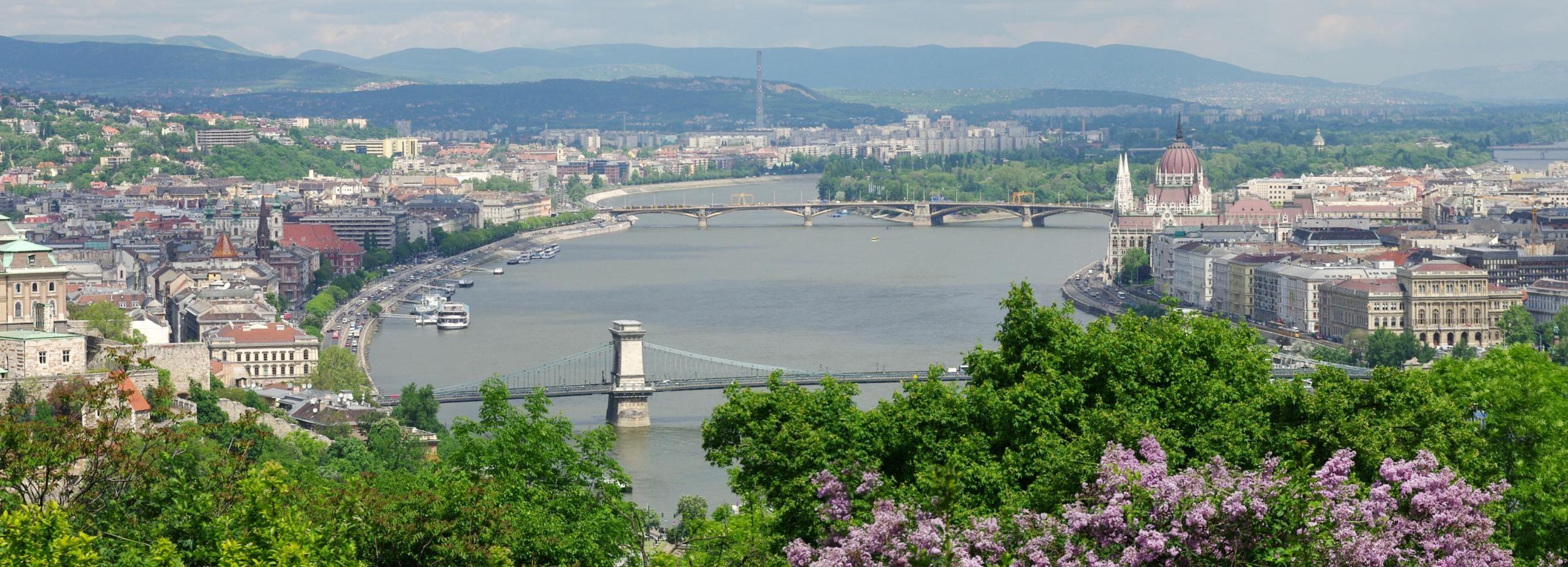 Budapest: tour guidato a piedi della collina Gellért