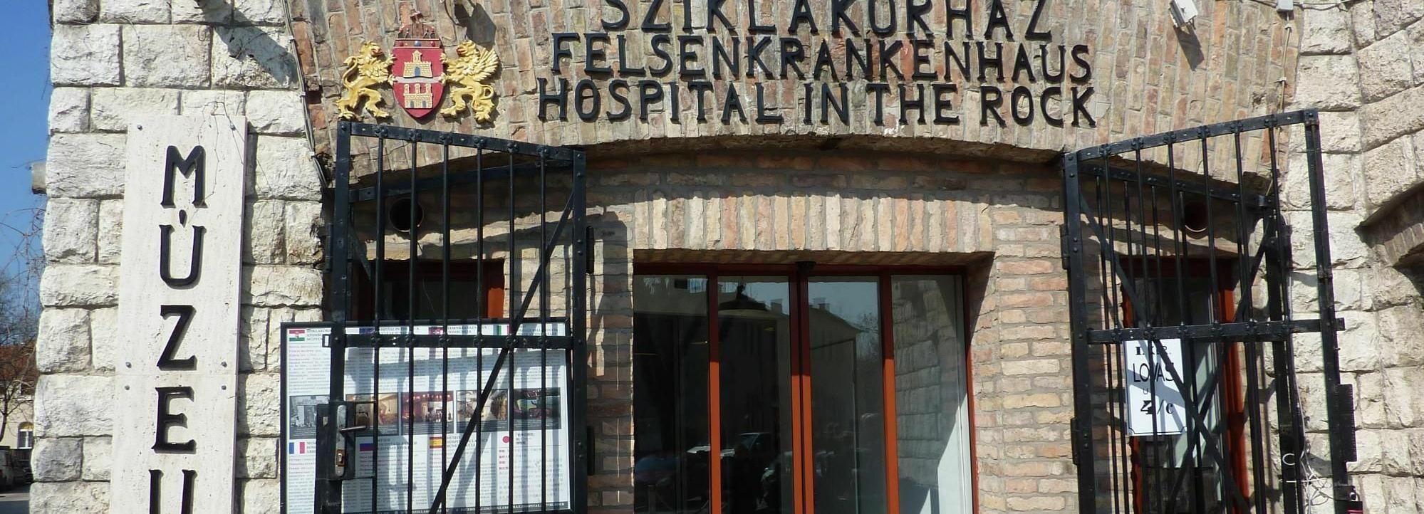 Budapest: visita guidata all'ospedale nella roccia e al castello