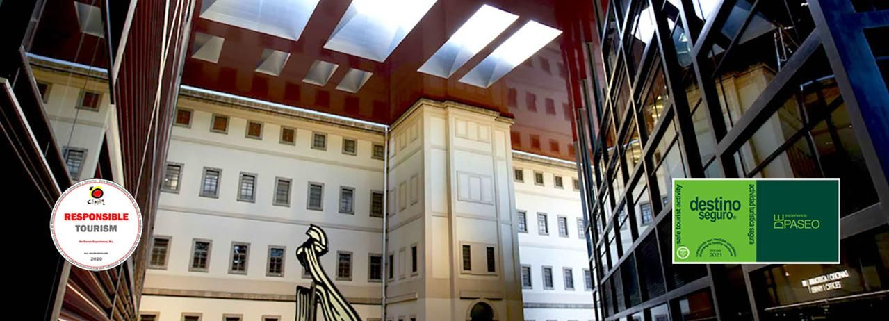 Madrid: Guided Tour to Reina Sofía Museum