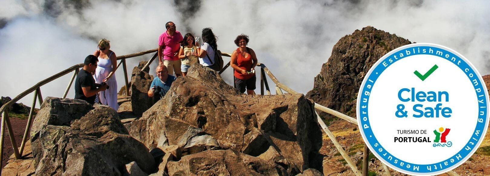 Picos da Madeira: Excursão de 1 Dia em Veículo Aberto 4x4