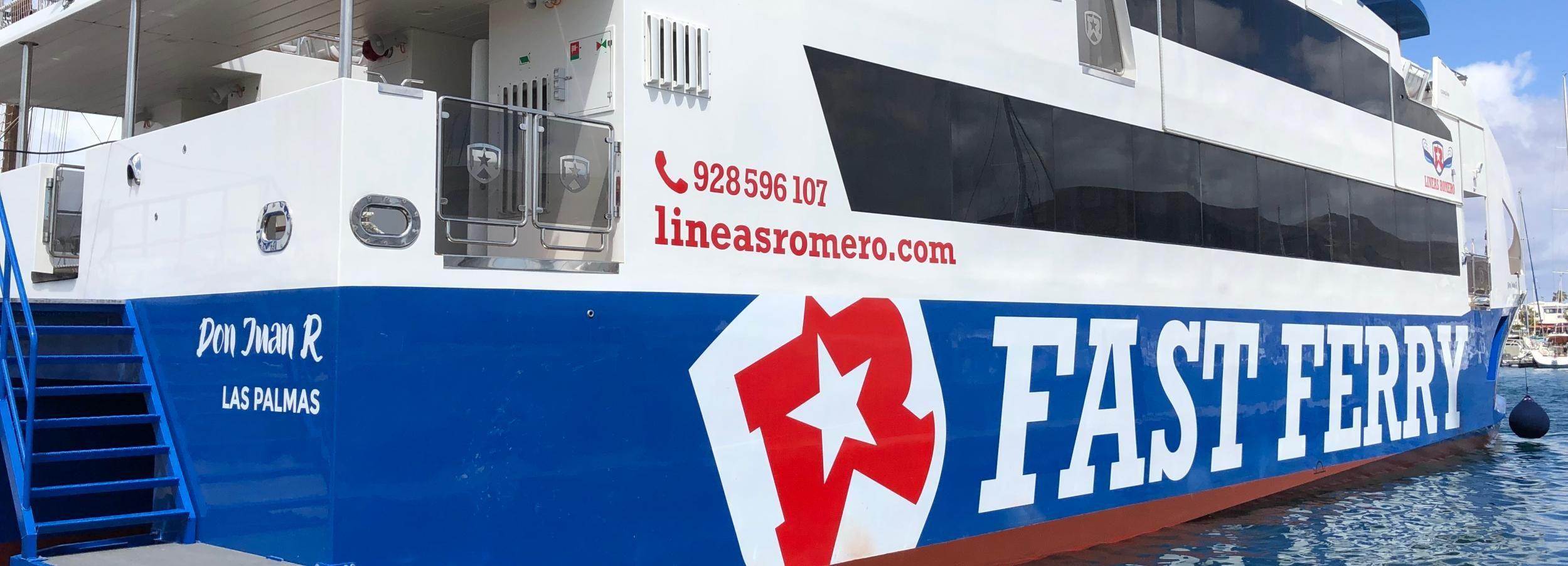 Fuerteventura: traghetto andata/ritorno da Lanzarote