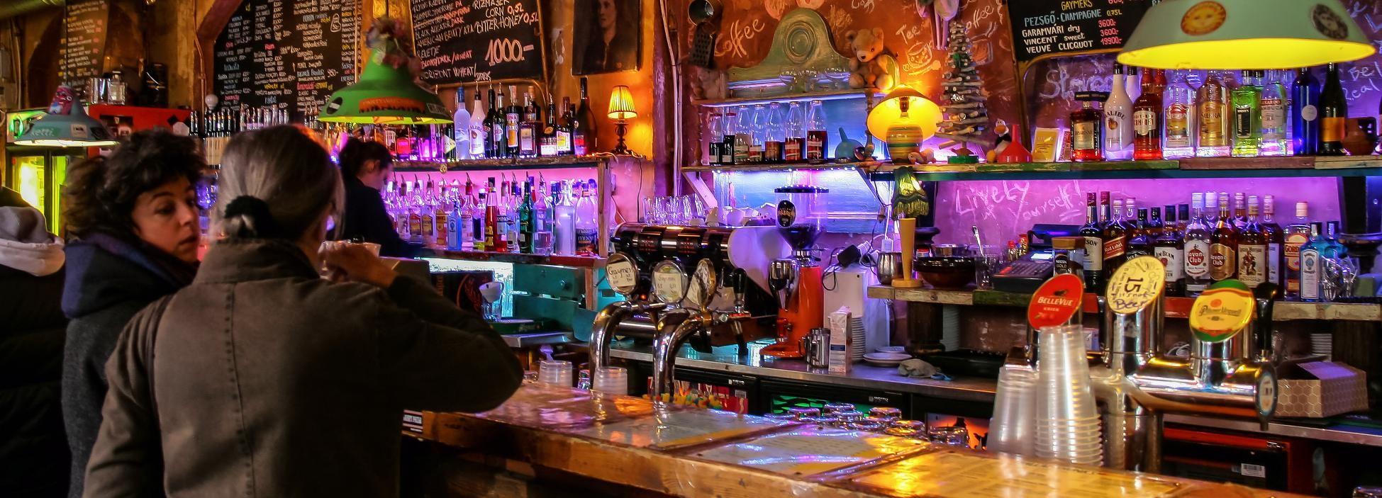 Budapest: Ruin Bar Erfahrung mit Getränken