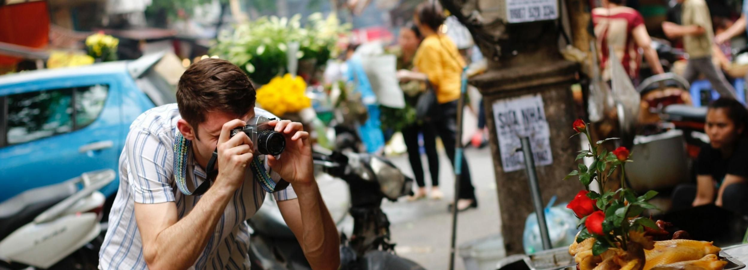 Hanoi: Private 4-Hour Film Photography Tour