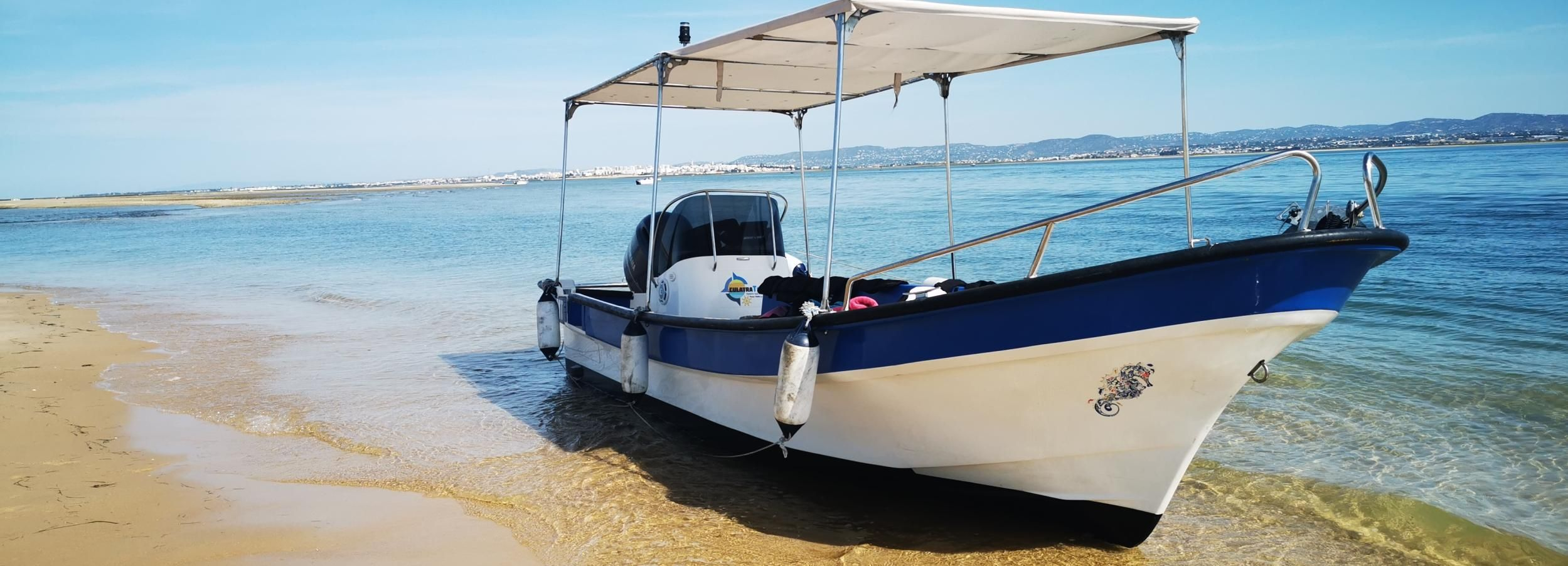 Olhao: Private 6-Hour Boat Rental with Captain