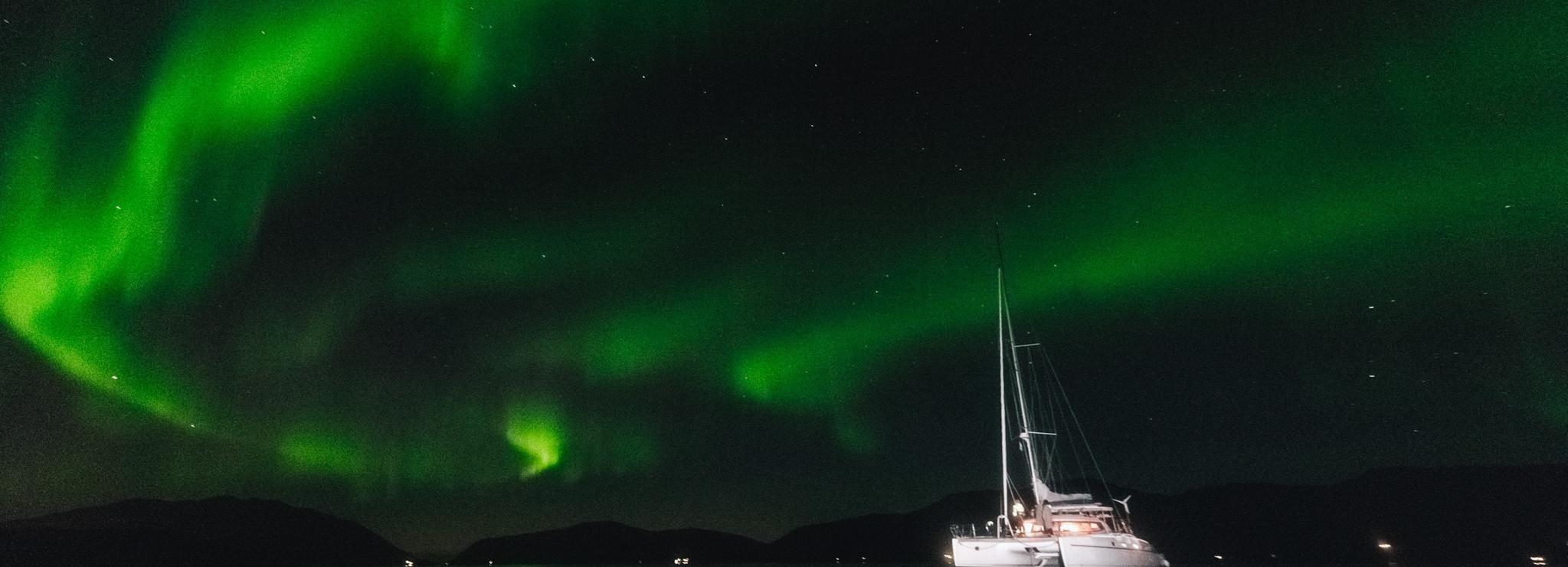 Tromsø: 3 uur durende zeiltocht naar het noorderlicht