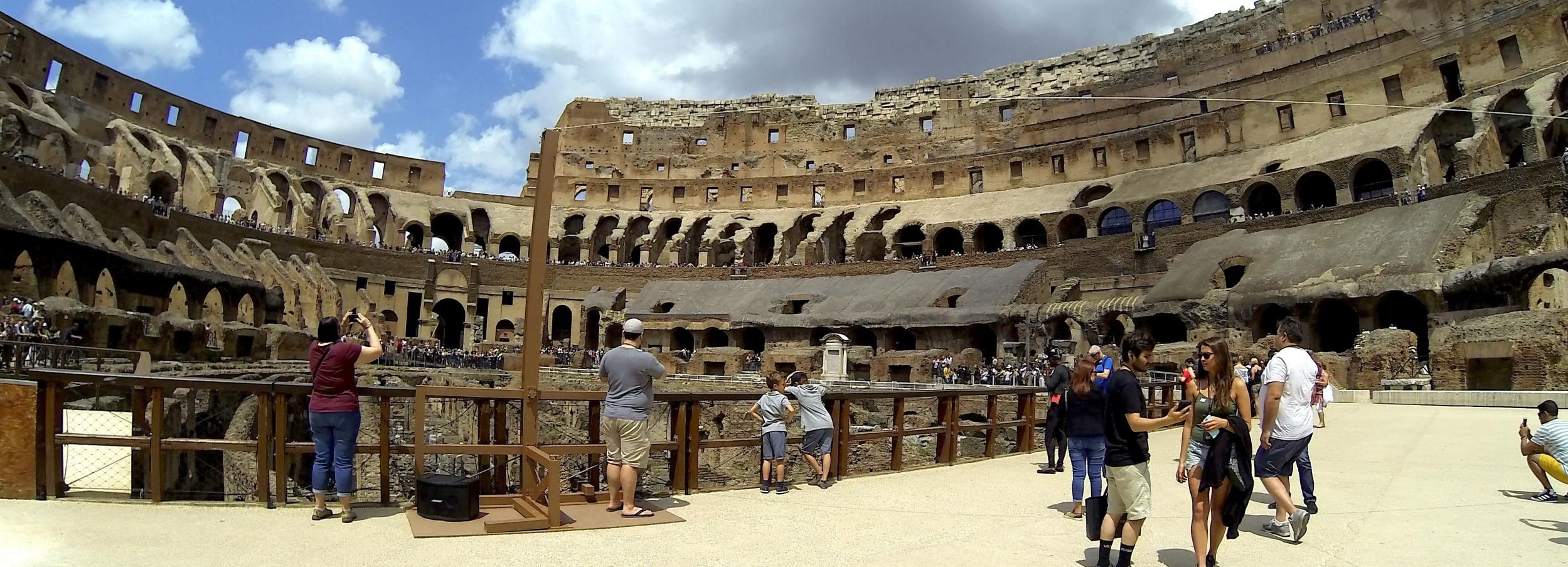 Rome: Colosseum Arena Small-Group Tour