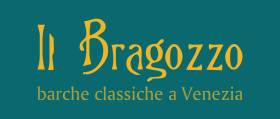 IL Bragozzo traditional boats in Venice.