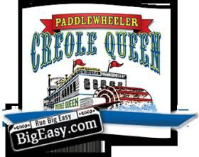 Paddlewheeler Creole Queen
