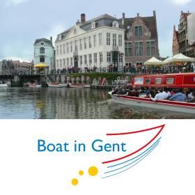 Boat in Gent bv