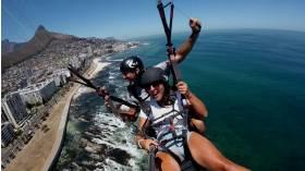 Icarus Tandem Paragliding, Cape Town