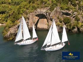 Sail Barbary - eco sailing Taupo