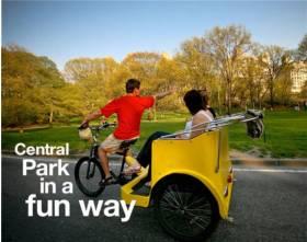 Official Central Park Pedicab Tours