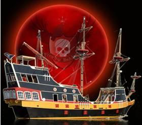 Pirate Ship Black Raven