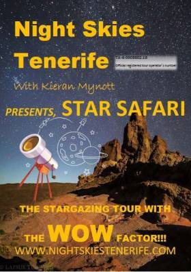 Night Skies Tenerife with Kieran Mynott