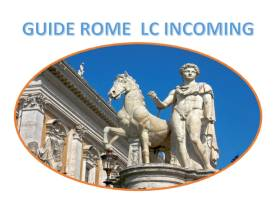 Guided Tours in Rome.