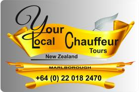 YOUR LOCAL CHAUFFEUR - MARLBOROUGH TOURS