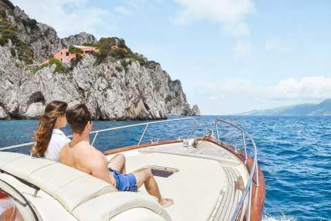Sorrento: tour in barca di Capri e Grotta Azzurra opzionale
