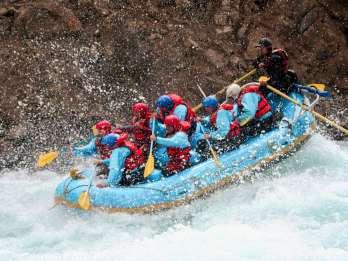 Banff: Nachmittags Kananaskis River Wildwasser Rafting Tour