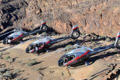 De Las Vegas: excursão de helicóptero ao Grand Canyon com champanhe
