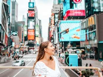 New York: Große Sightseeing-Tour per Hop-On/Hop-Off-Bus
