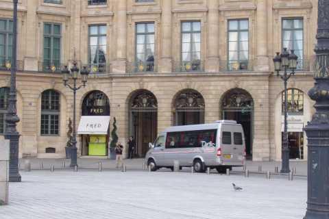 Paris: visite de 2h en minibus