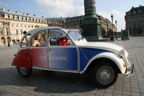 Romantic Paris Vintage Citroën 2CV Tour