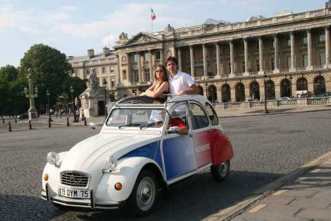 Highlights of Paris: Private 6-Hour Vintage 2CV Tour