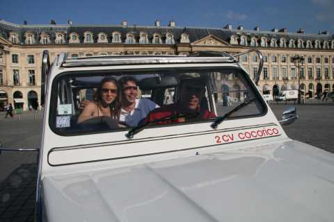 Versailles Trip from Paris in Citroen 2CV
