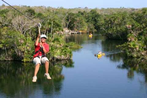 Tulum e Tankah Cenotes Eco-Adventure Tour